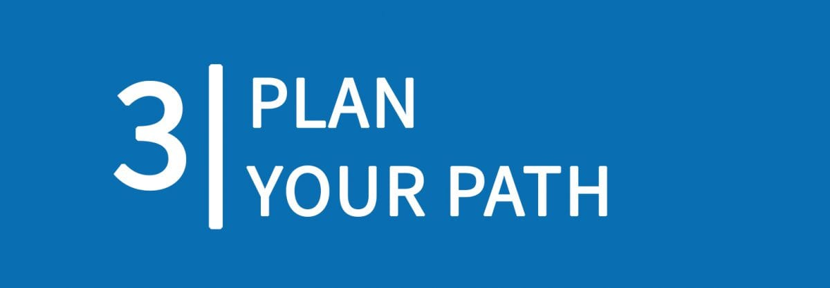 3: Plan Your Path